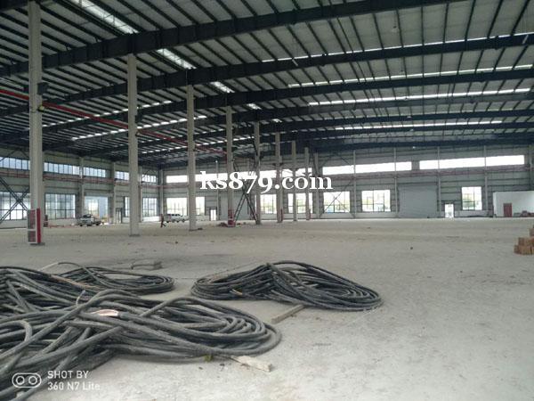 昆山高新区单层2000平米厂房出租 钢结构 全新